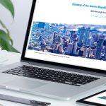 طراحی سایت سفارت ایران در غنا